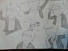 おそ松さん[マフィア松](お仕事かな?) プリ画像