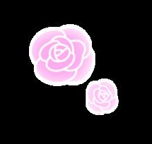 薔薇 バラ 背景透過 量産型の画像(可愛い 背景に関連した画像)
