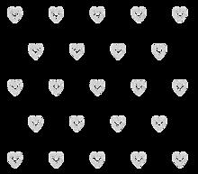 ハートの画像(半透明に関連した画像)