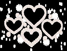 パール ハート キラキラの画像(加工用に関連した画像)