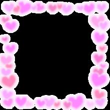 ハート フレームの画像(加工用に関連した画像)