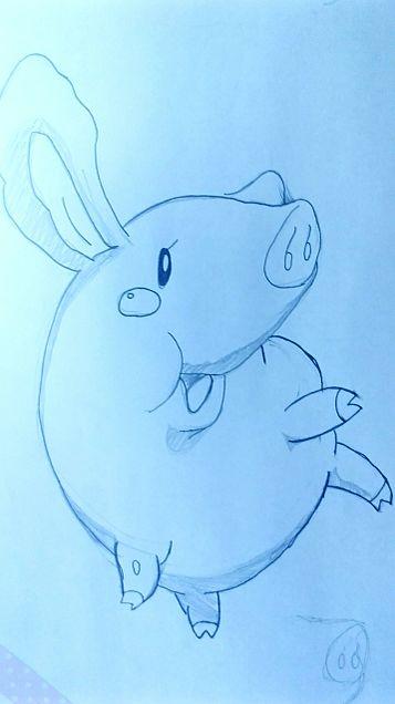 ホークちゃん♡ラクガキの画像(プリ画像)