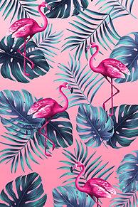 フラミンゴの画像(ハワイアンに関連した画像)