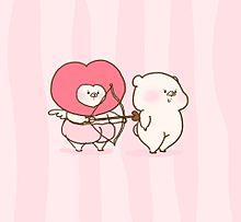 バレンタイン プリ画像
