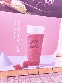 ピンクの飲み物の画像(飲み物に関連した画像)