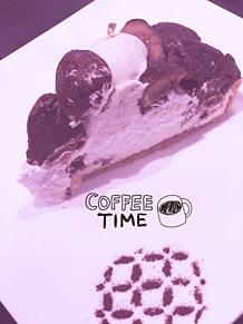和栗の季節の画像(ケーキに関連した画像)
