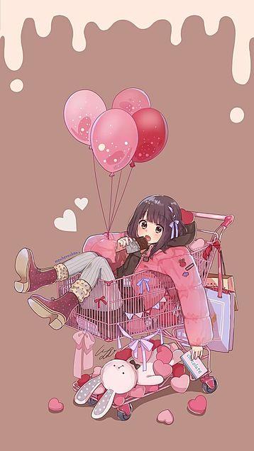 バレンタイン 壁紙の画像(プリ画像)