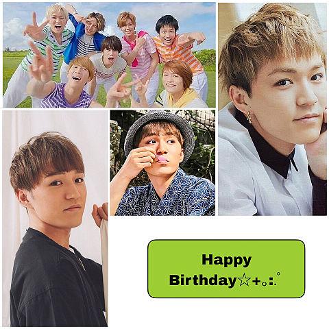 神ちゃん Happy Birthday!の画像(プリ画像)