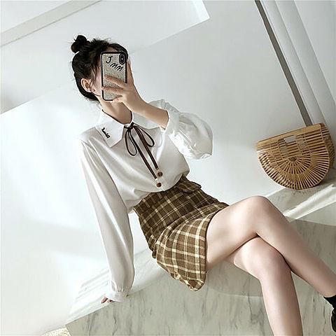 女の子 韓国 女子 おしゃれ かわいい 白 オルチャン お団子の画像 プリ画像