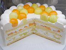 メロンケーキの画像(プリ画像)