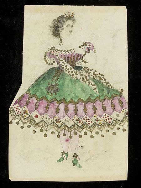 Design for a fancy-dress costumeの画像(プリ画像)