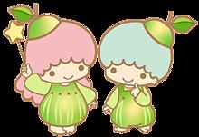 洋梨のキキララの画像(背景透過 インスタに関連した画像)