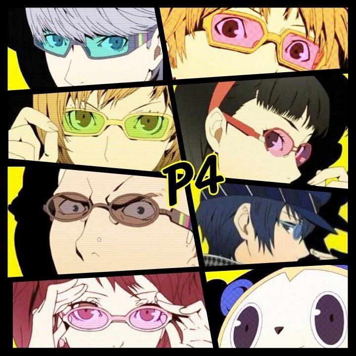 メガネをかけて全員集合!