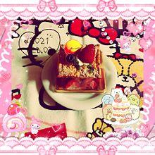 シャトレーゼ発酵バター香る苺のミルフィーユの画像(ルフィーに関連した画像)