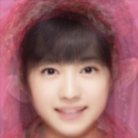 平均顔の画像(プリ画像)