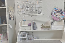my勉強机☁️の画像(勉強机に関連した画像)