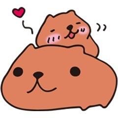 カピバラさん♡♡の画像(プリ画像)