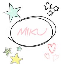 MIKU(名前)の画像(Mikuに関連した画像)