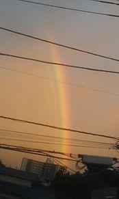 虹だぁ プリ画像