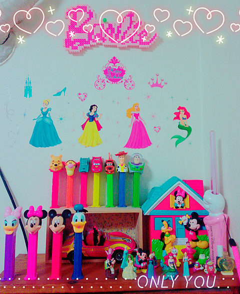 my colorful collection 💞🌷🐼の画像(プリ画像)