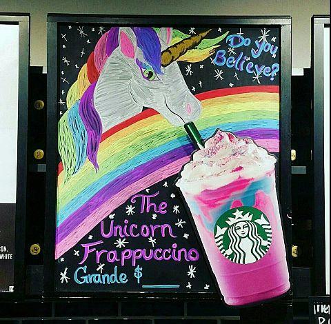 unicorn frappuccino 🎠🌷の画像(プリ画像)