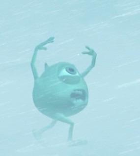 吹雪の中?のマイクの壁紙