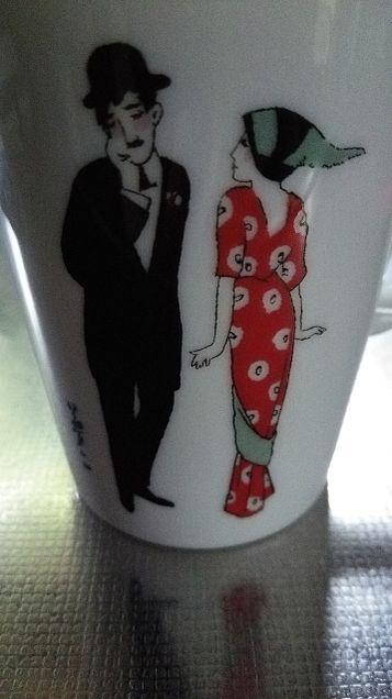 マグカップ×竹久夢二の画像(プリ画像)
