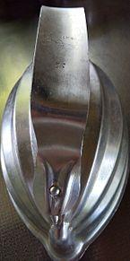 洋食用ライス抜き型1/2 プリ画像