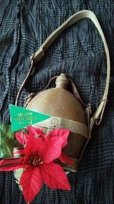 水筒×クリスマス プリ画像