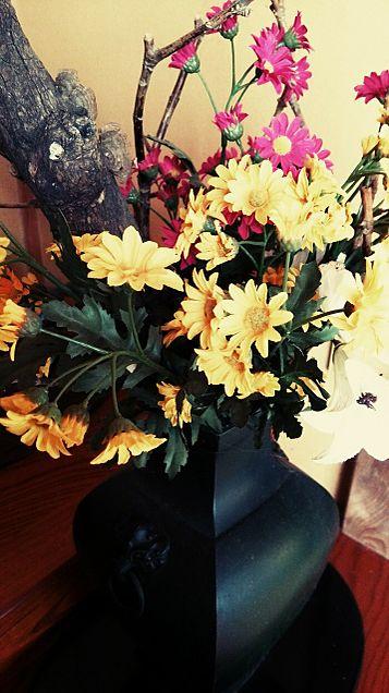 花瓶×花×ヴィンテージの画像 プリ画像