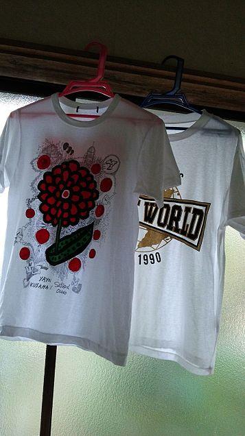Tシャツ×2の画像(プリ画像)
