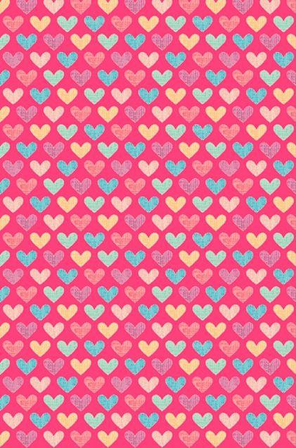 ハート*ピンク* 素材の画像(プリ画像)