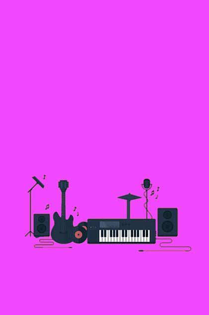 楽器*紫*素材の画像(プリ画像)