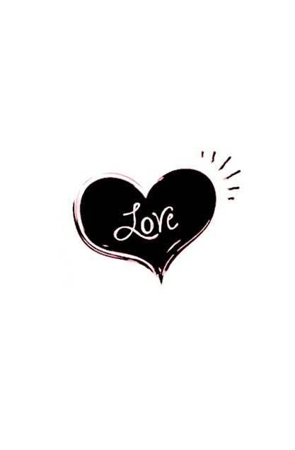love*黒の画像 プリ画像
