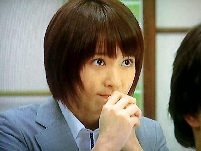 新垣結衣 ショートカット  本当に×2、男子が好むモテ髪 長澤