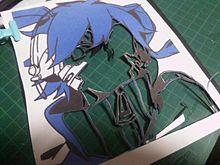 切り絵でエネができるまでpart2の画像(メカクシティーアクターズに関連した画像)