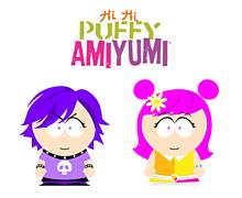 Hi Hi Puffy AmiYumiサウスパーク風の画像(PUFFYに関連した画像)