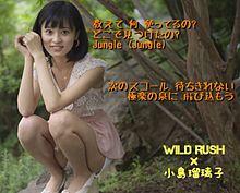 小島瑠璃子×WILD RUSHの画像(プリ画像)