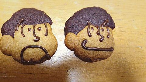 おそ松さんクッキー作ってみた!の画像(プリ画像)