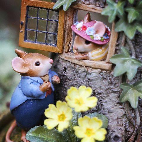 かわいいネズミちゃん  写真右下のハートを押してねの画像(プリ画像)