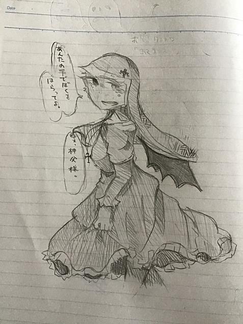 授業中のらくがき((((((の画像(プリ画像)