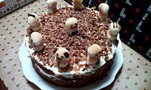 クリスマスケーキの画像(チョコバナナに関連した画像)