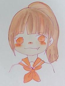 ポニテ女子描いてみた ✍の画像(プリ画像)