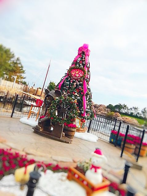 Disney Sea Xmas tree 🎄Duffyの画像(プリ画像)