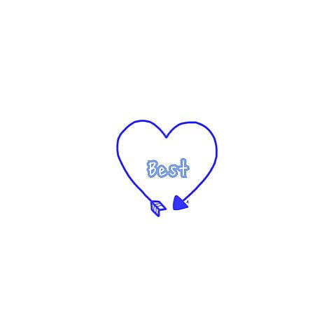 Best friend ペア画 保存..♥の画像(プリ画像)