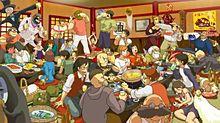 ジブリキャラで飲み会♪の画像(飲み会に関連した画像)