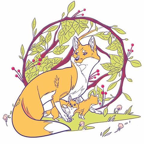 狐の画像 プリ画像