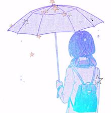 星降る傘☂️✨の画像(傘に関連した画像)