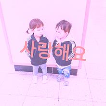 韓国のキッズカップルです! プリ画像