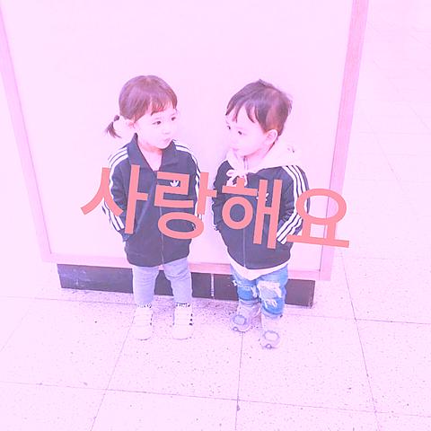 韓国のキッズカップルです!の画像(プリ画像)